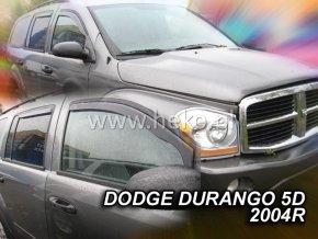 Ofuky oken Dodge Durango 5D 2004- přední + zadní