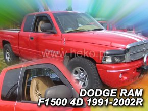 Ofuky oken Dodge Ram 1500 2/4D 1991-2002 přední