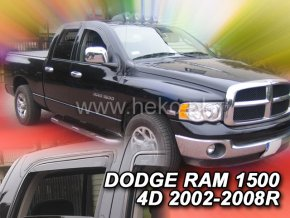 Ofuky oken Dodge Ram 1500 4D 2002-2008 přední + zadní