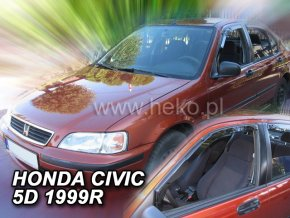 Ofuky oken Honda Civic 4D EJ, EK 1996-2000 přední