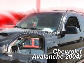 Ofuky oken Chevrolet Avalanche 4D 2002-2006 přední