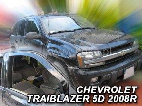 Ofuky oken Chevrolet Traiblazer 5D 2002-2009 přední