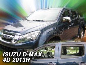 Ofuky oken Isuzu D-Max 2/4D 2.gen 2012- přední + zadní