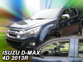 Ofuky oken Isuzu D-max 2/4D 2.gen 2012- přední
