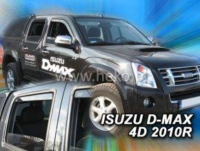 Ofuky oken Isuzu D-Max 4D 2010- přední + zadní