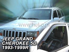 Ofuky oken Jeep Grand Cherokee 5D 1993-1999 přední