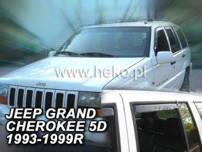 Ofuky oken Jeep Grand Cherokee 5D 1993-1999 přední + zadní