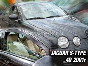 Ofuky oken Heko Jaguar S-Type 4D 2001- přední