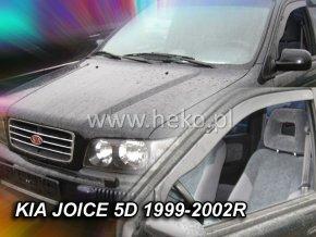 Ofuky oken Kia Joice 5D 1999-2002 přední