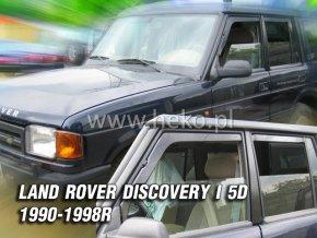 Ofuky oken Land Rover Discovery I 5D 1990-1998 přední + zadní