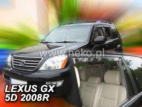 Ofuky oken Heko Lexus GX 5D USA 2004-2009 přední + zadní