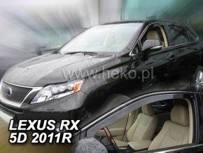 Ofuky oken Lexus RX 5D 2010- AL10 přední