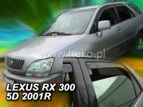 Ofuky oken Heko Lexus RX 300 5D USA 2009- přední + zadní