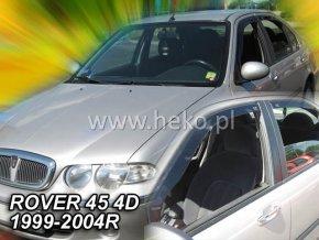 Ofuky oken Heko Rover 45 4D 1999-2004 přední + zadní