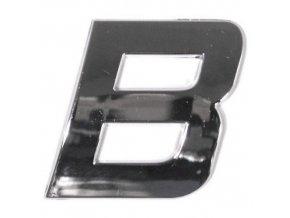 Znak B samolepící PLASTIC