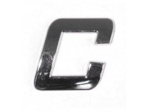 Znak C samolepící PLASTIC