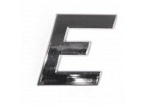 Znak E samolepící PLASTIC