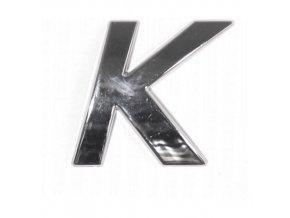 Znak K samolepící PLASTIC