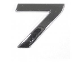 Znak 7 samolepící PLASTIC