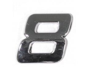 Znak 8 samolepící PLASTIC