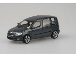 Model auta Škoda Roomster tmavě šedý