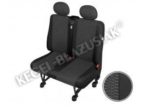 Autopotahy Ares DV2 M Airbag - dodávka