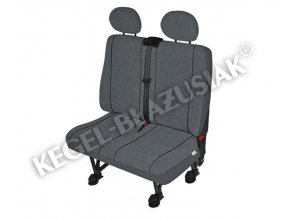Autopotahy Elegance DV2 M Airbag - dodávka