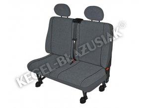 Autopotahy Elegance DV2 XL Airbag - dodávka