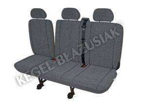 Autopotahy Elegance DV3 Airbag - dodávka (split)