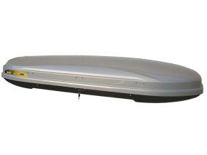 Střešní box HAKR Magic Line 450 - šedý lesk