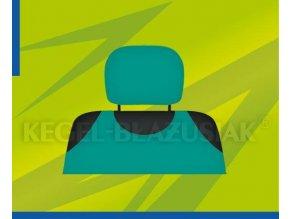 Potah opěrky hlavy zelený