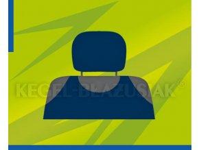 Potah opěrky hlavy tmavě modrý