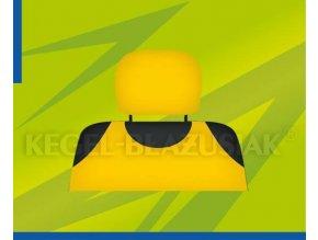 Potah opěrky hlavy žlutý
