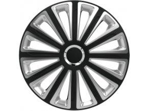 Kryty kol - poklice Trend Silver/Black R15
