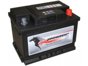 Autobaterie AK POWER 12V 62 Ah 540A