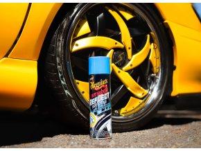 Meguiars Hot Shine Reflect Tire Shine - přípravek pro unikátní třpytivý lesk pneumatik, 425 g