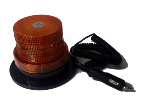 Výbojkový magnetický maják oranžový 12V-24V LED