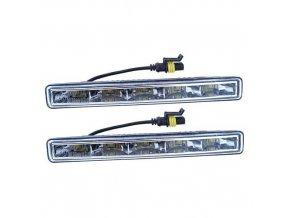 Světla denního svícení 5 HIGH POWER LED 12V/24V (182x23x51 mm)