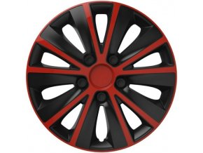 Kryty kol - poklice RAPIDE Red/Black R15