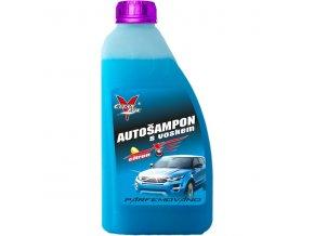 autošampon s voskem