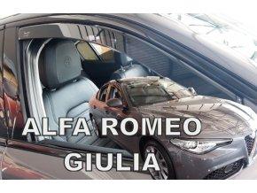 Ofuky oken Alfa Romeo Giulia 5D 2016- přední