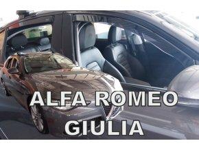Ofuky oken Alfa Romeo Giulia 5D 2016- přední + zadní