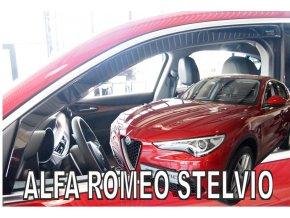 Ofuky oken Alfa Romeo Stelvio 5D 2017- přední
