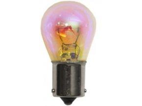 Autožárovka OSRAM 12V PY21W (BAU15S) 12V diadem chrome (2ks) oranžová