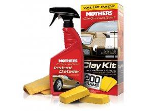 Mothers California Gold Clay Bar Value Pack 2 x 100 g odstraňovač hrubých nečistot z karoserie sada