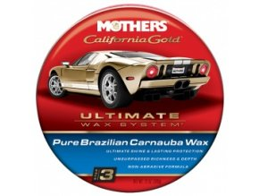 Mothers California Golf Pure Brazilian Carnauba Wax neabrazivní karnaubský vosk pasta 340g (krok3)