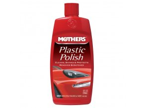 Mothers Plastic Polish leštěnka a oživovač plastů, 236 ml