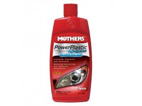 Mothers PowerPlastic 4Lights leštěnka na světla a čiré plasty, 236 ml