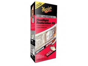 Meguiar's Basic Headlight Restoration Kit základní sada na oživení světlometů
