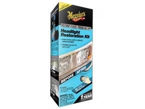 Meguiar's Two Step Headlight Restoration Kit revoluční dvoukroková sada na oživení světlometů
